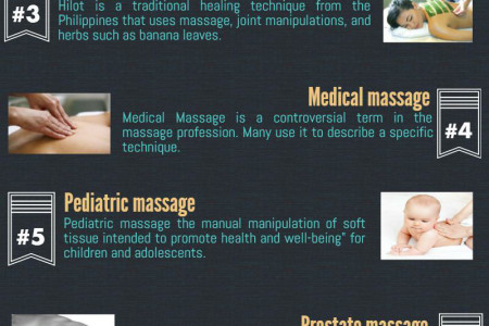Massage Therapy Benefits Infographic