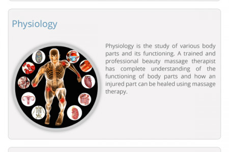 Massage Therapy Course Infographic
