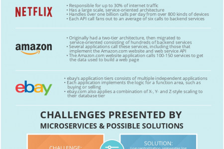 Mastering the Shift to Microservices Infographic