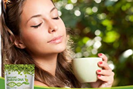 Matcha Green Tea for Healthy and Fit Life Infographic