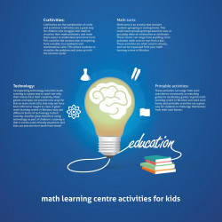 Math learning Centre activities for kids   Visual.ly