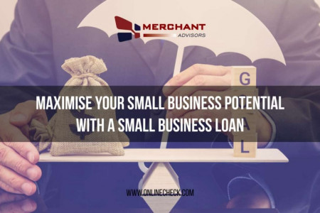 Maximise Your Small Business Potential With A Small Business Loan Infographic