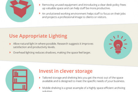 Maximising Workspace Efficiency Infographic
