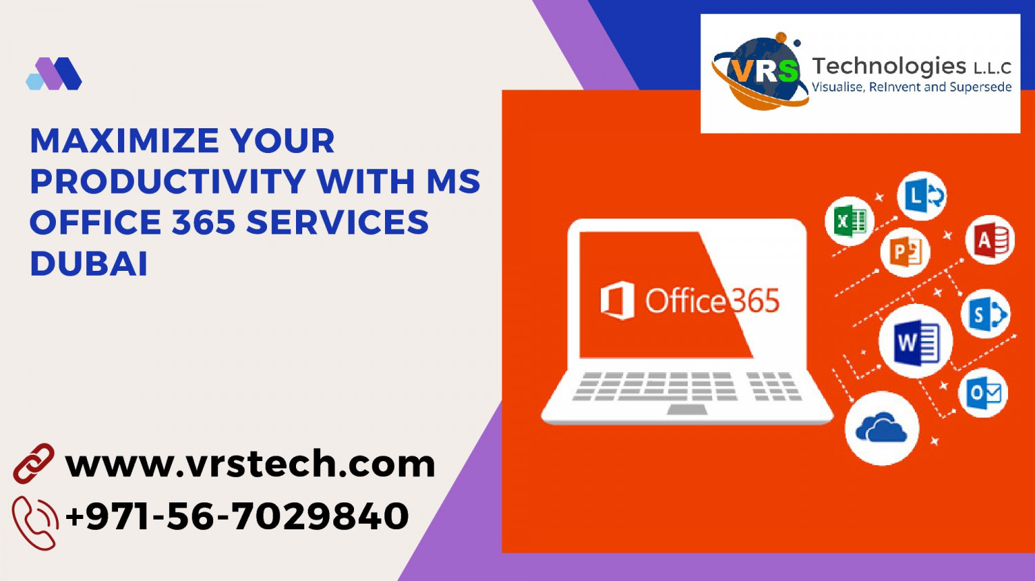 Maximize your Productive with MS Office 365 Services in Dubai Infographic