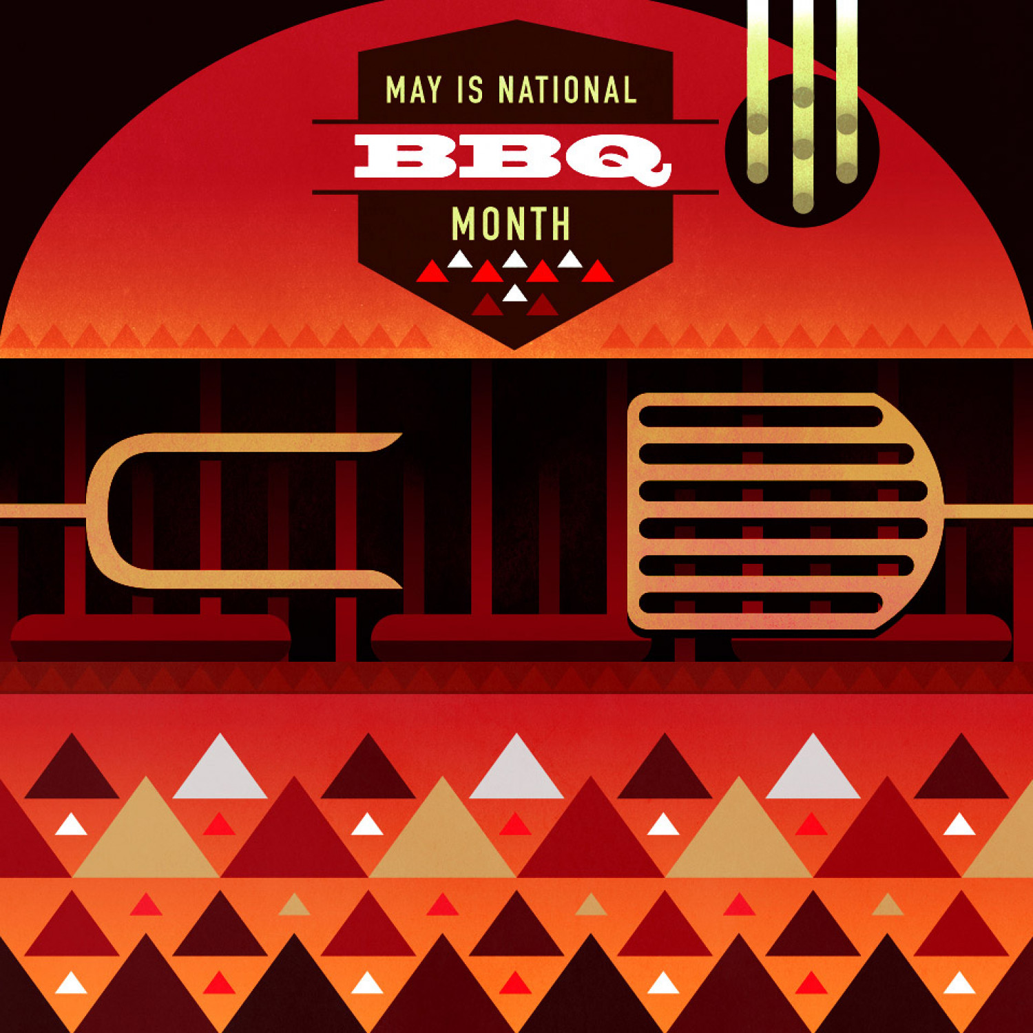 May is National BBQ Month Infographic