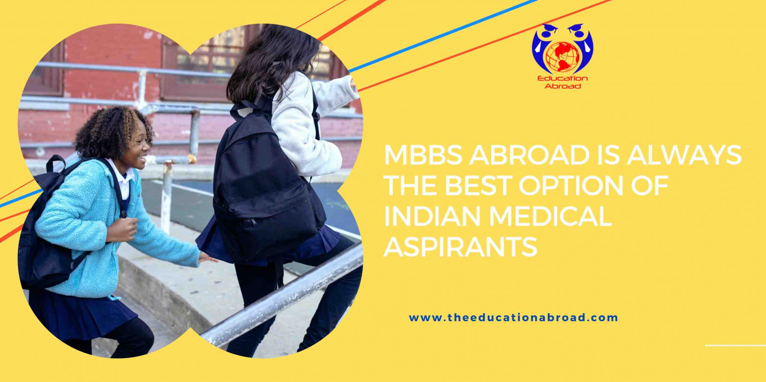 MBBS abroad is always the best option of Indian medical aspirants Infographic