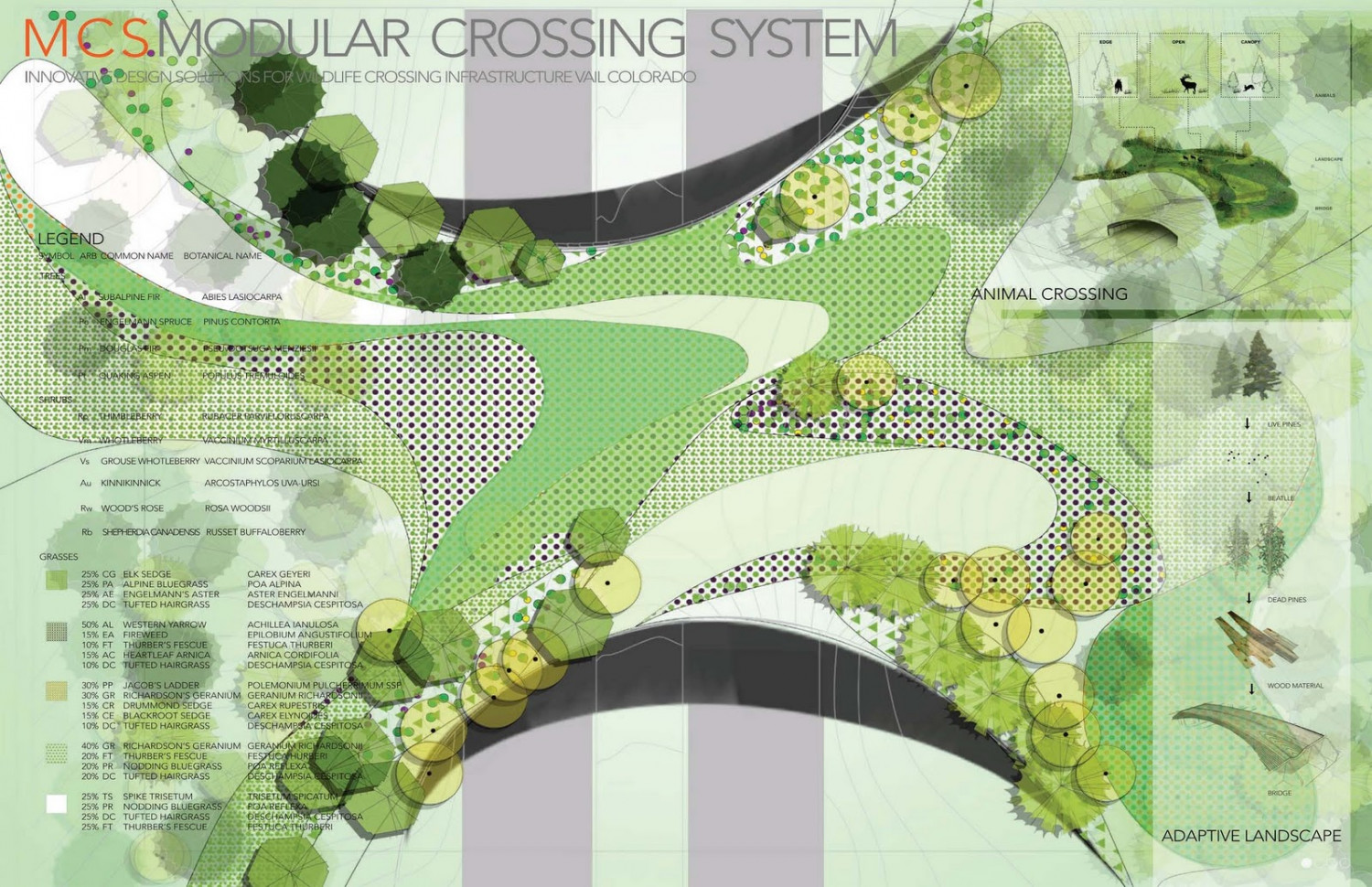 MCS Modular Crossing System Infographic