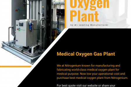 Medical Oxygen Plant by #1 Leading Manufacturer Infographic
