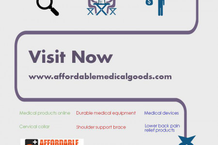 Medical Products Online Shopping Affordable Price Infographic