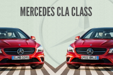 Mercedes CLA Class launched in India-Infographic Infographic
