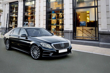 Mercedes S Class Hire in London For Business Clients Infographic