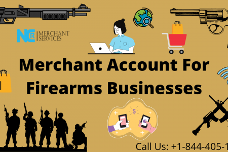 Merchant Account For Firearms Businesses Infographic