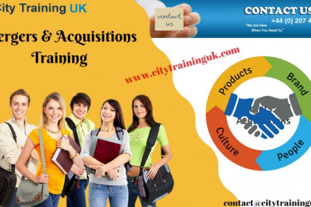 Mergers & Acquisitions (M&A) Training Courses - City Training UK Infographic