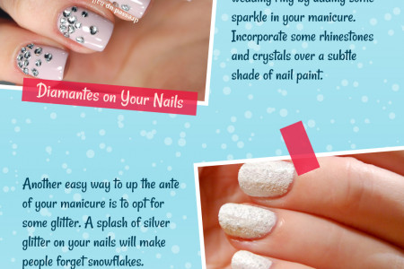 Mesmerizing Manicures For Winter Brides – Nailed It! Infographic