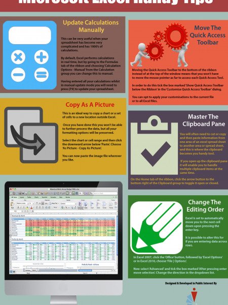Microsoft Excel Handy Tips For Cheap Microsoft Office 2013 Infographic