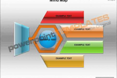 Mind Map Chart Illustratin Powerpoint Template -templatesforpowerpoint.com Infographic