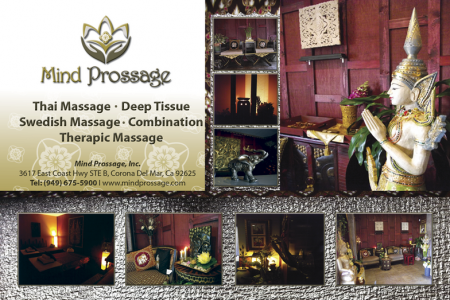 Mind Prossage Massage Health Club Infographic