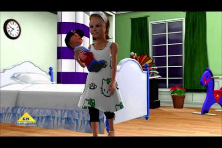 Miss polly had a doll Nursery Rhymes 3D Animated Videos Infographic