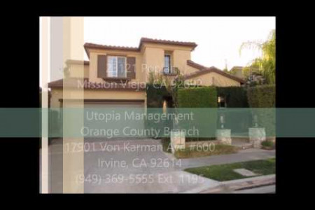 Mission Viejo Property Management - 23121 Poplar, Mission Viejo CA 92692 Infographic