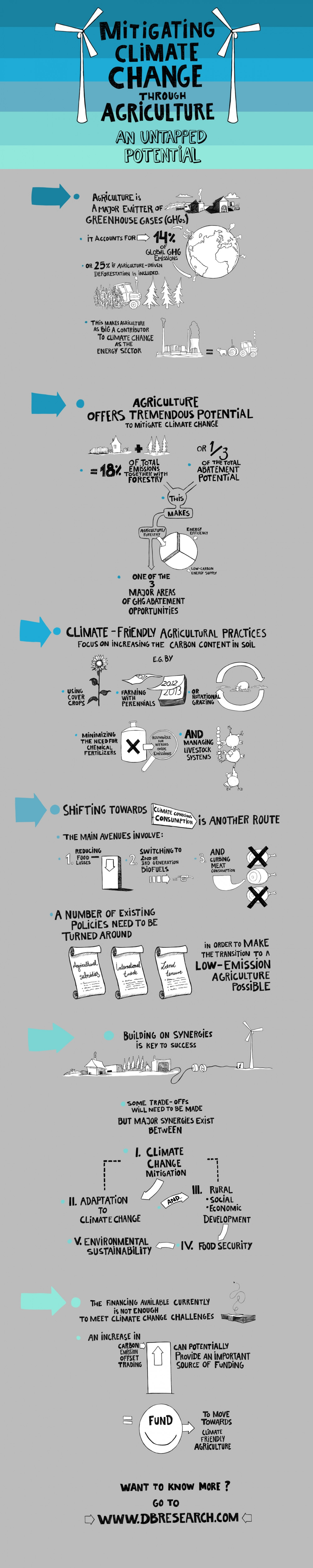 Mitigating Climate Change Infographic