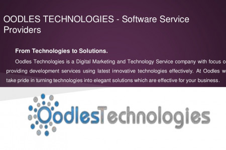 Mobile & Web Development Company -Oodles Technologies Infographic