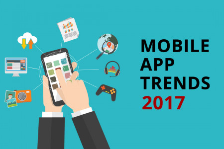 Mobile App Trends 2017 Infographic