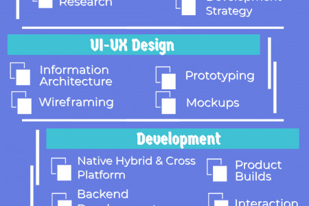 Mobile Application Development Services Infographic