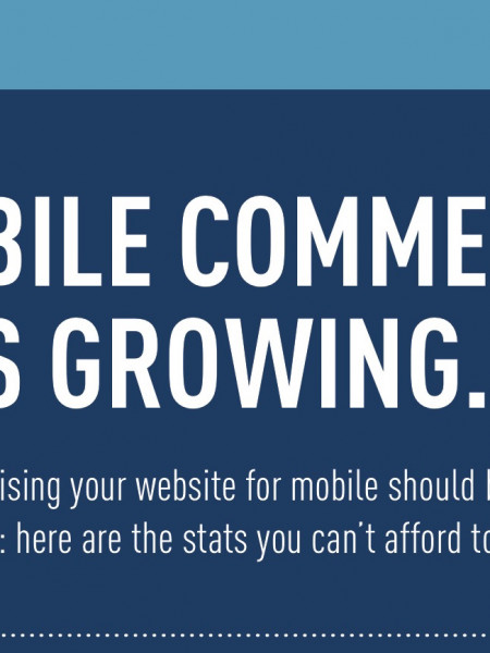 Mobile Commerce Is Growing Infographic