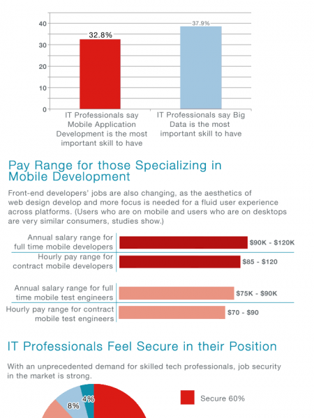 Mobile Evolution: Trends in the IT Workforce Infographic