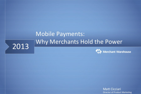 Mobile Payments: Why Merchants Hold the Power Infographic