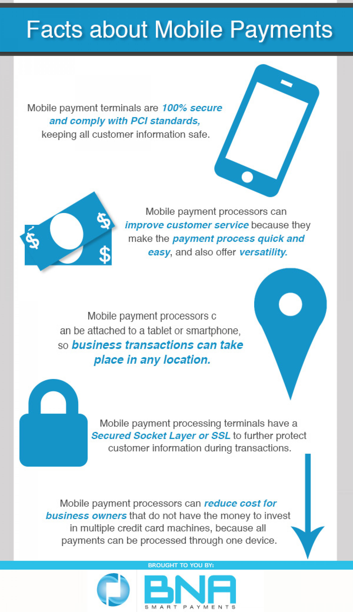 Facts About Mobile Payments Infographic
