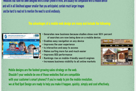 Mobile Web Design….The Latest Sales Producing Technology Infographic