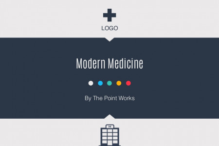 Modern Medicine Template Infographic