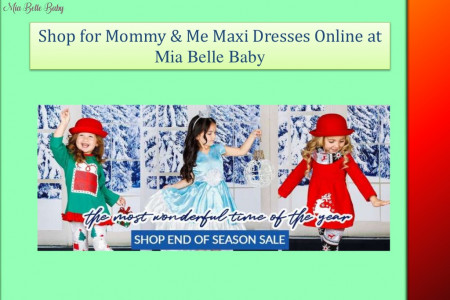 Mom & Daughter Matching Dresses  Infographic