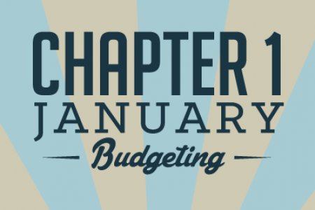 Money Saving Manual: Chapter 1 – January: Budgeting Infographic