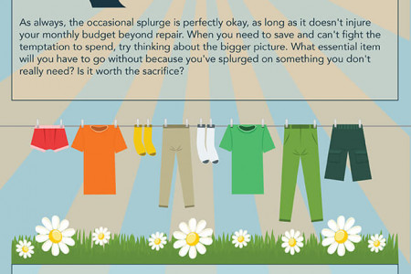 Money Saving Manual Chapter 8- August: Clothes Infographic
