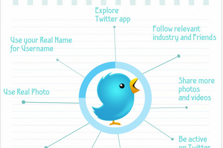 Most Important Elements to get Followers from Twitter Infographic