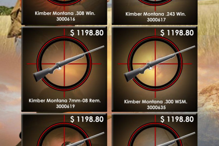 Most Popular Kimber Montana Hunting Rifles Online Infographic