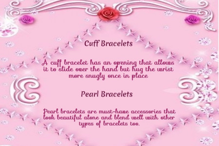 Most Popular Women Bracelet Styles Infographic