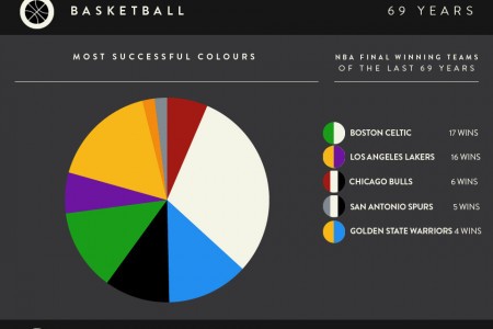 Most Successful Sporting Colours Infographic