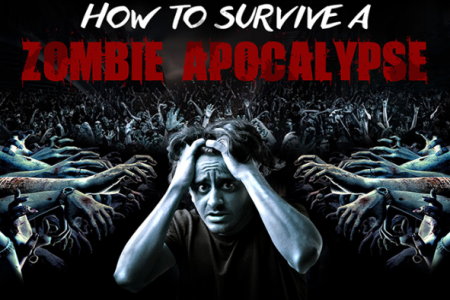 Most Useful Skills in a Zombie Apocalypse Infographic