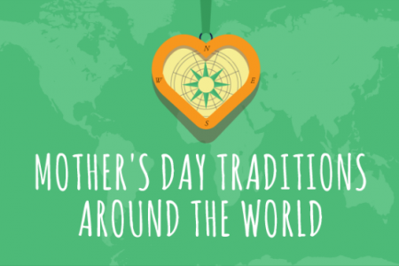 Mother's Day Traditions around the World Infographic