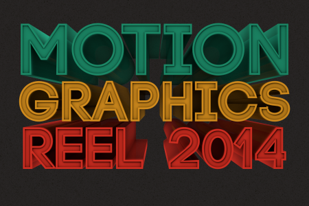 Motion Graphics Reel 2014 Infographic