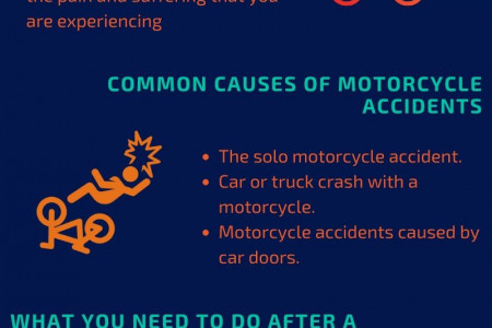 Motorcycle Accident Attorneys in West Virginia - Ghaphery Law Offices, PLLC Infographic