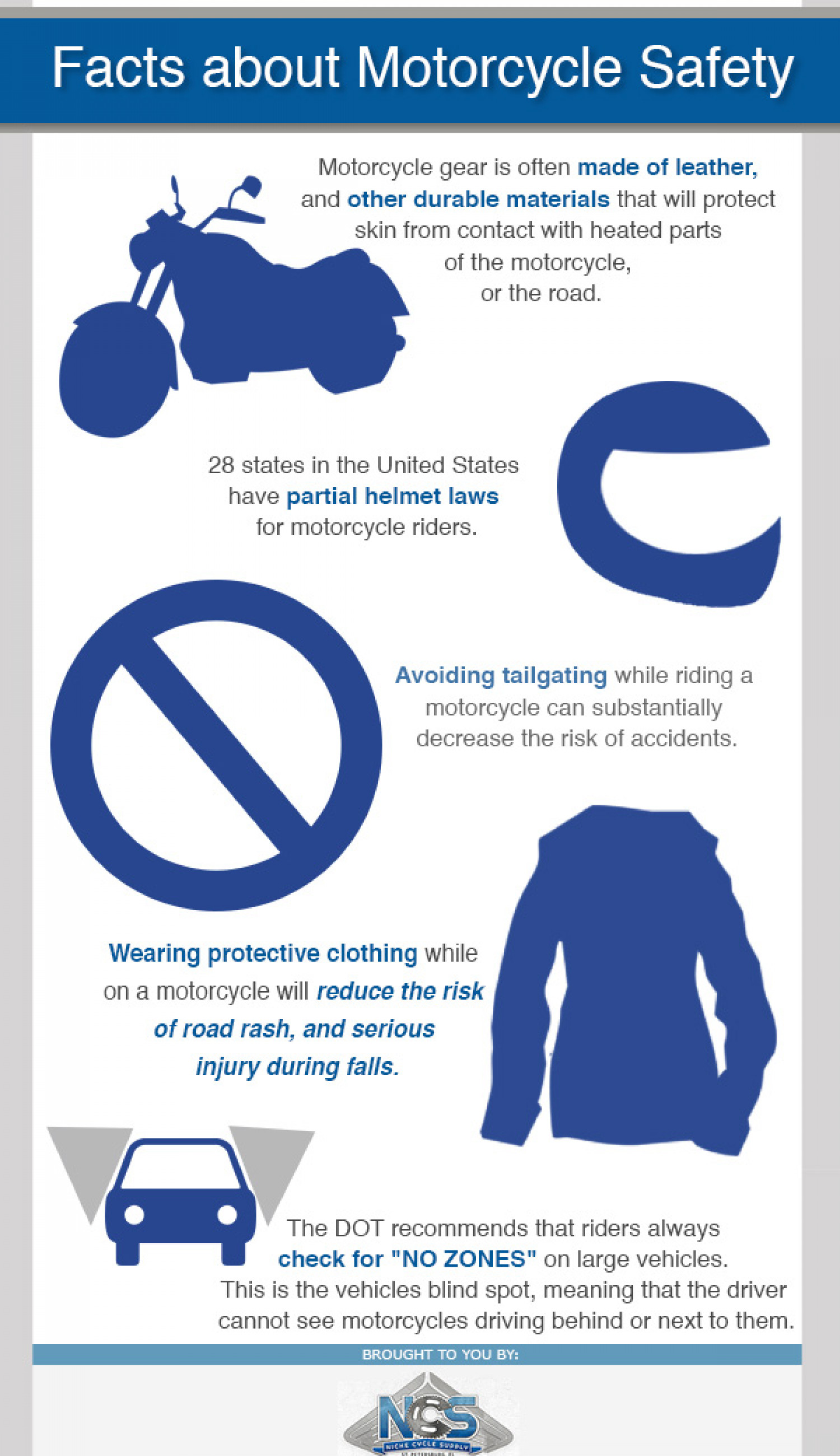 Facts About Motorcycle Safety Infographic