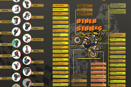 Motorcycle Stunt Names Infographic
