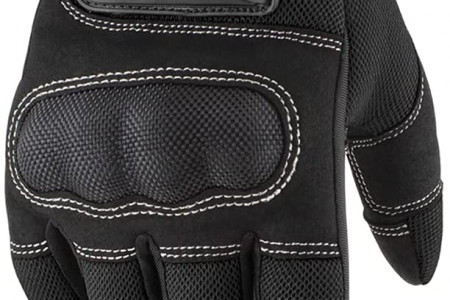 Motorcycle touchscreen gloves Infographic