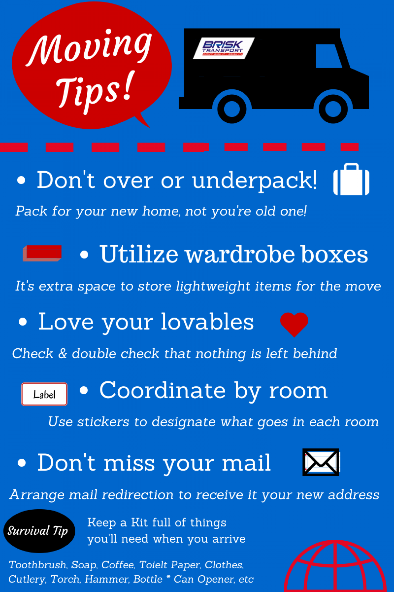 Moving House Checklist Tips