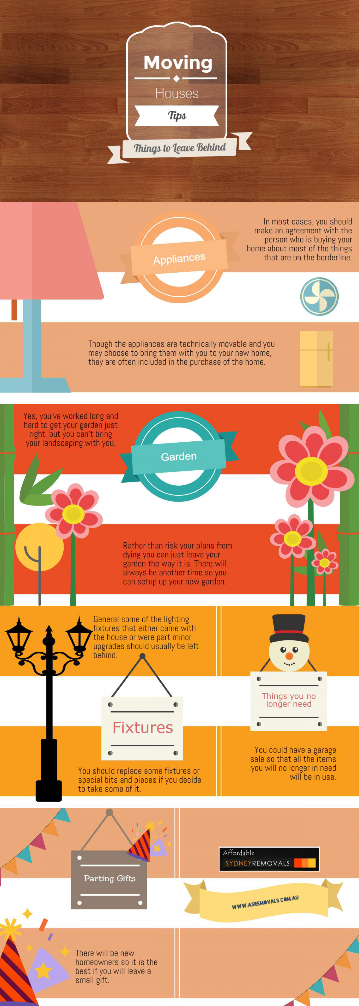 Moving Houses Tips: Things to Leave Behind | Visual.ly