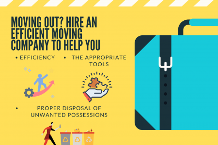 Moving Out? Hire An Efficient Moving Company To Help You Infographic